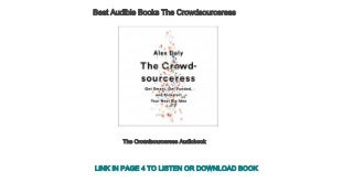 Best Audible Books The Crowdsourceress