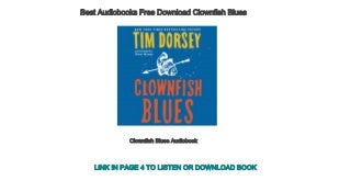 Best Audiobooks Free Download Clownfish Blues