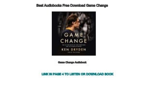 Best Audiobooks Free Download Game Change