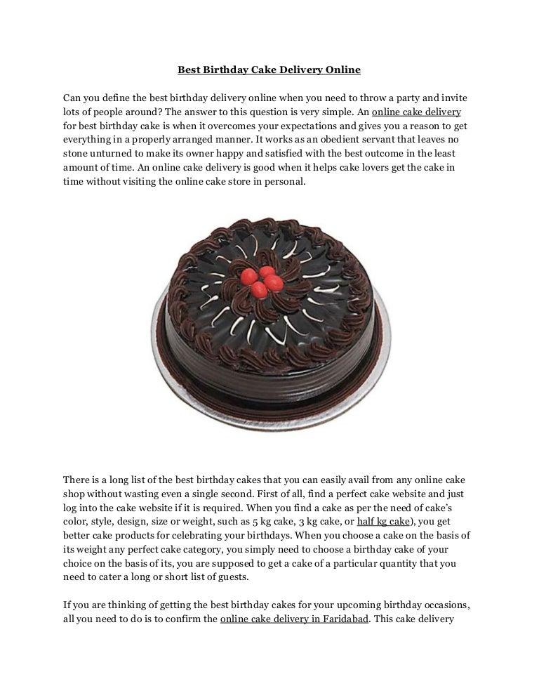 Outstanding Best Birthday Cake Delivery Online Funny Birthday Cards Online Hetedamsfinfo