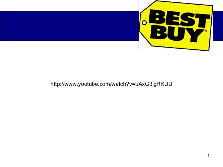 Best Buy Marketing Analysis Presentation