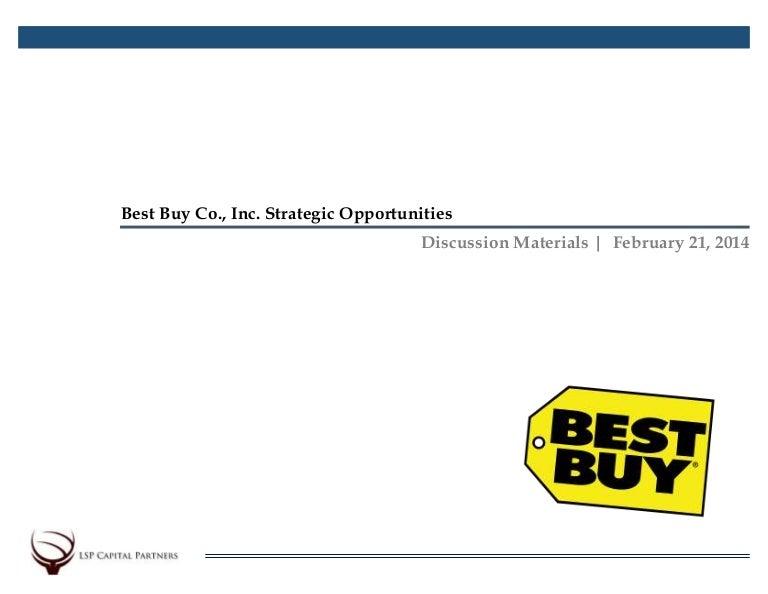 Best Buy Pitchbook SlideShare