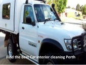 Best car interior cleaning perth