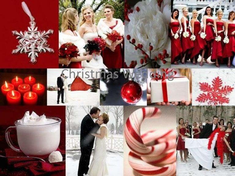 Best Christmas Wedding Ideas