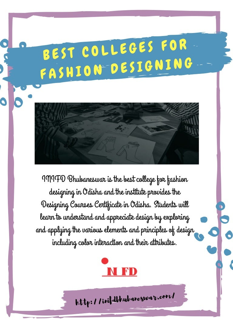 Best Colleges For Fashion Designing