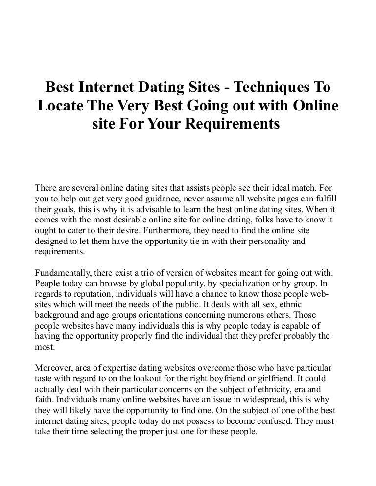 Slideshare Dating site uri