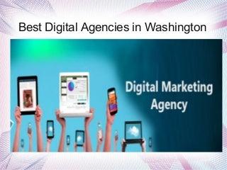 Best digital agencies in washington