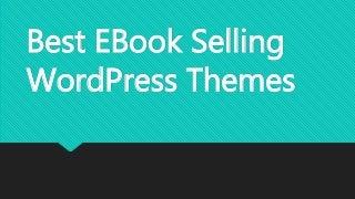 Best eBook WordPress Theme 2016