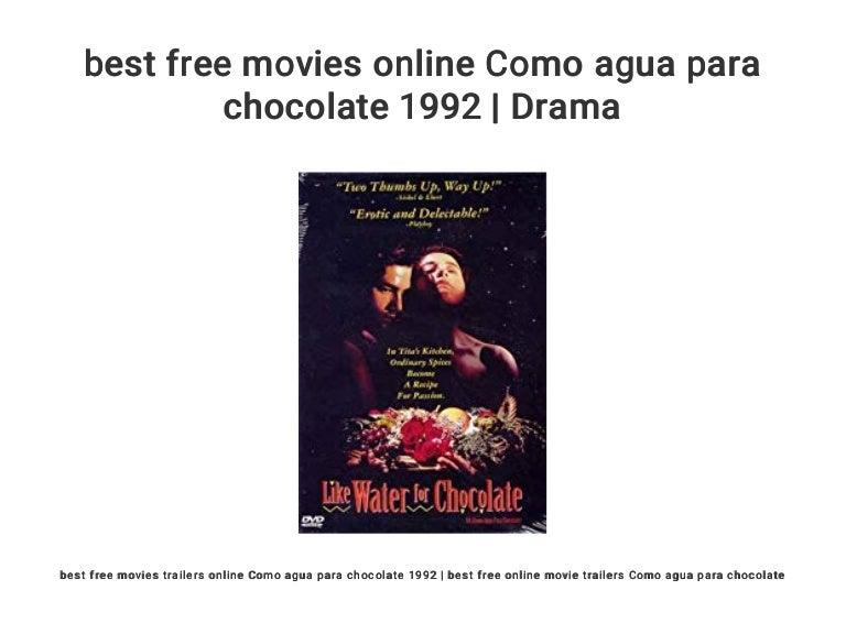 como agua para chocolate online free