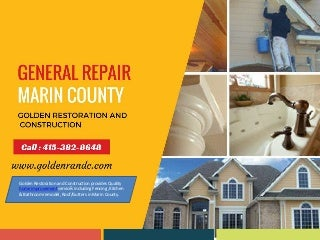 Best Home Repair & Remodeling in Marin County