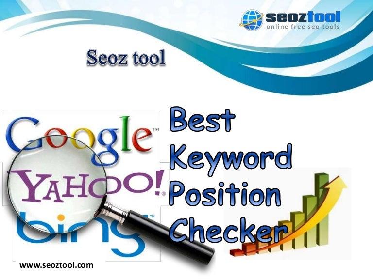 Best Keyword Position Checker