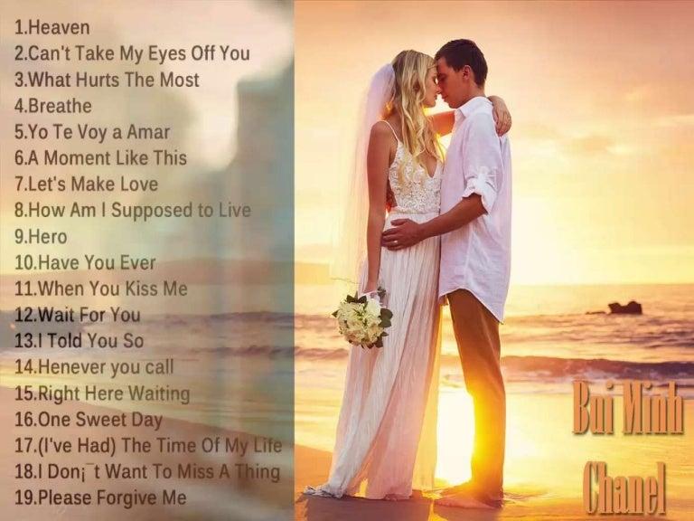 Good songs for making love