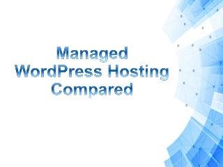 Managed WordPress Hosting Compared - Itabix