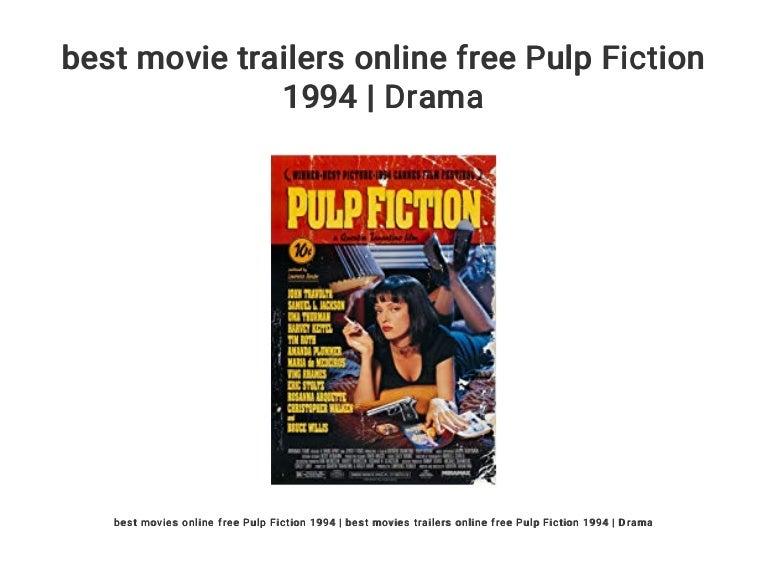 Best Movie Trailers Online Free Pulp Fiction 1994 Drama