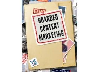 BOBCM: Best of Branded Content Marketing Volume I