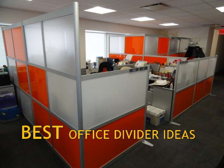 Best Office Divider Ideas