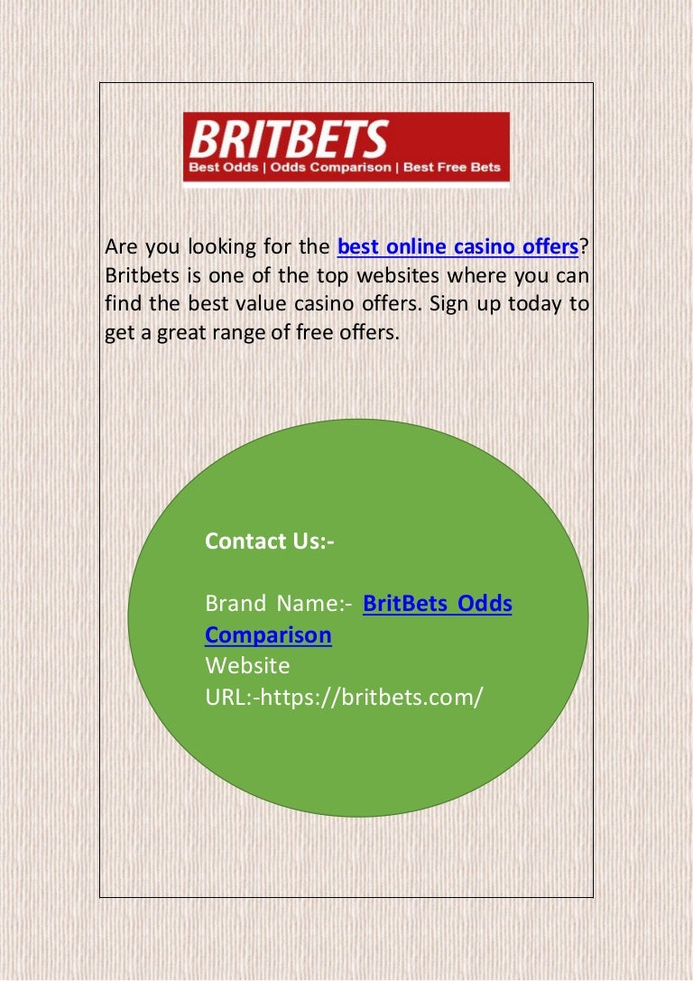 Best Online Casino Offers Britbets