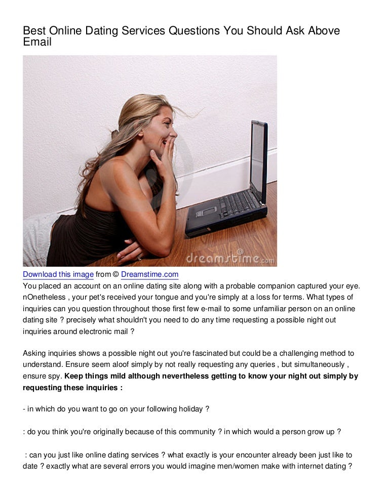 Top Five Questions to Ask Your Online Date