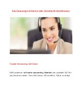 Best outsourcing call center in india trusted by 50