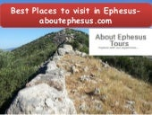 Best Places to visit in Ephesus- aboutephesus.com