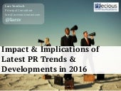 Best practices in social media & PR 2016 - by PRecious Communications