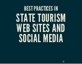 Best practices in state tourism web sites and social media