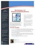 1 Pager: Best Practices Research and Advisory Services