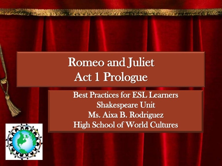 teaching romeo and juliet to 9th graders