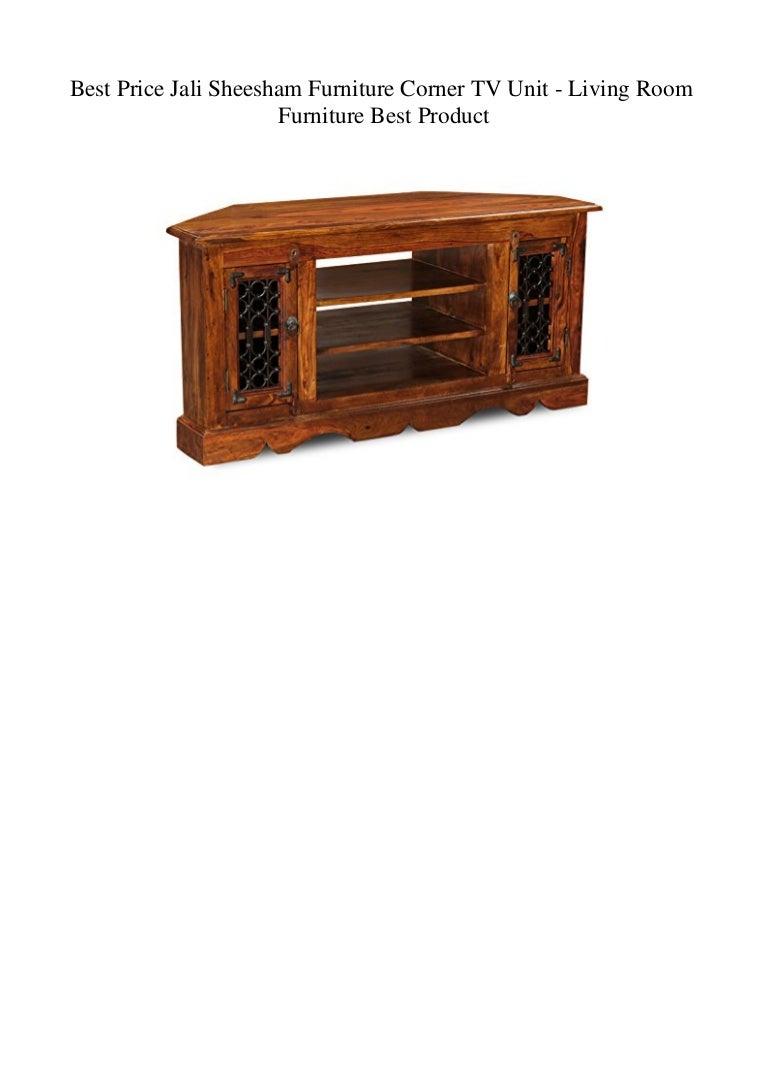 Picture of: Best Price Jali Sheesham Furniture Corner Tv Unit Living Room Furni