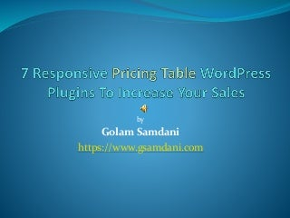 Best pricing table wordpress plugin