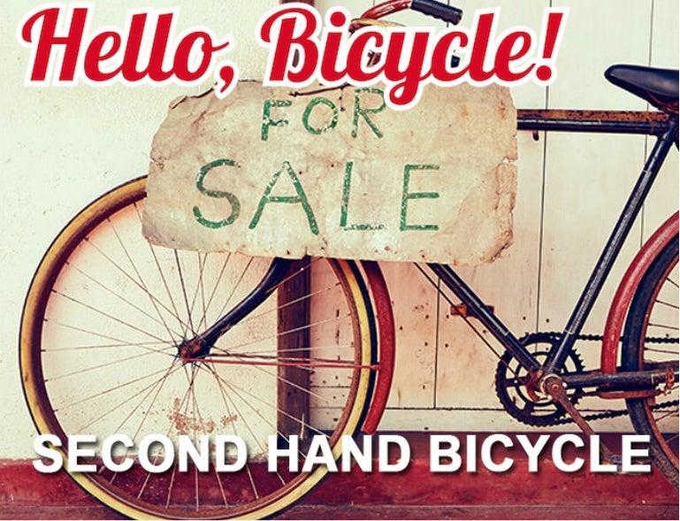 second hand bicycl ile ilgili görsel sonucu
