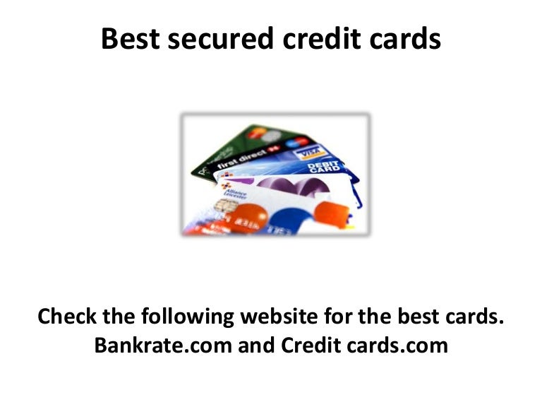 Best secured credit cards and Credit Repair