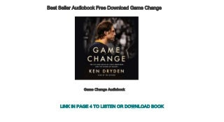 Best Seller Audiobook Free Download Game Change