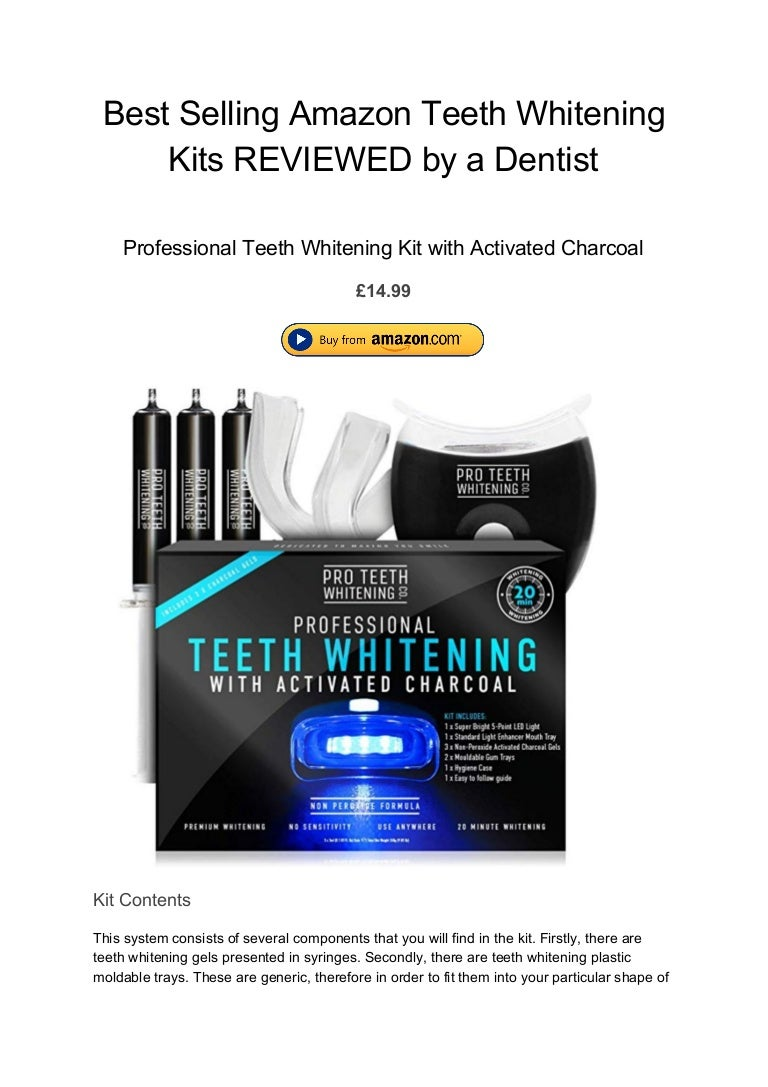 Best Selling Amazon Teeth Whitening Kits Reviewed By A Dentist