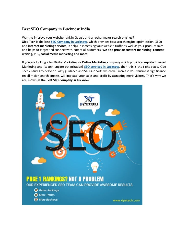 Seo Services Lucknow