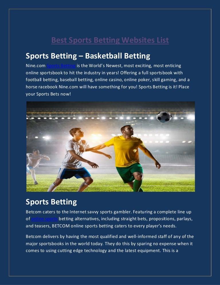 Sports betting websites list kikai mining bitcoins