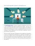 Best task management system for efficient business