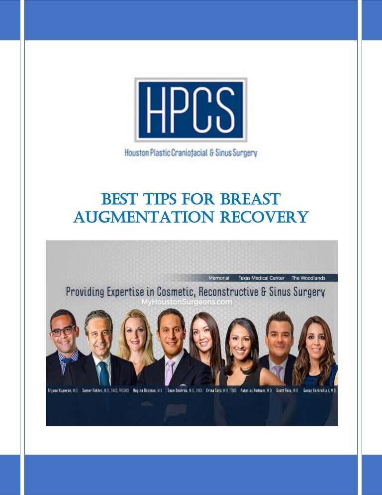 Best Tips For Breast Augmentation Recovery