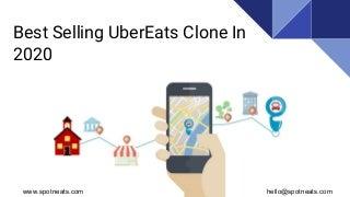 Best Selling UberEats Clone Script in 2020