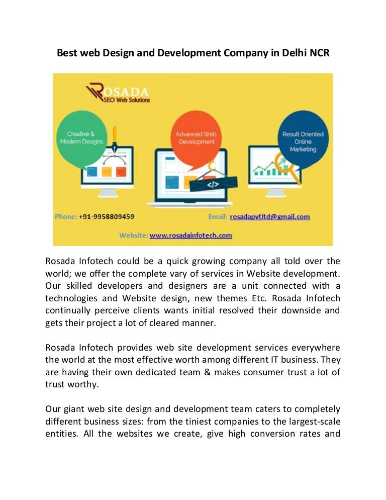 Best Web Design And Development Company In Delhi Ncr Converted