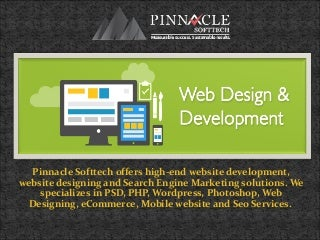 Pinnacle Softech - Website Development and Services