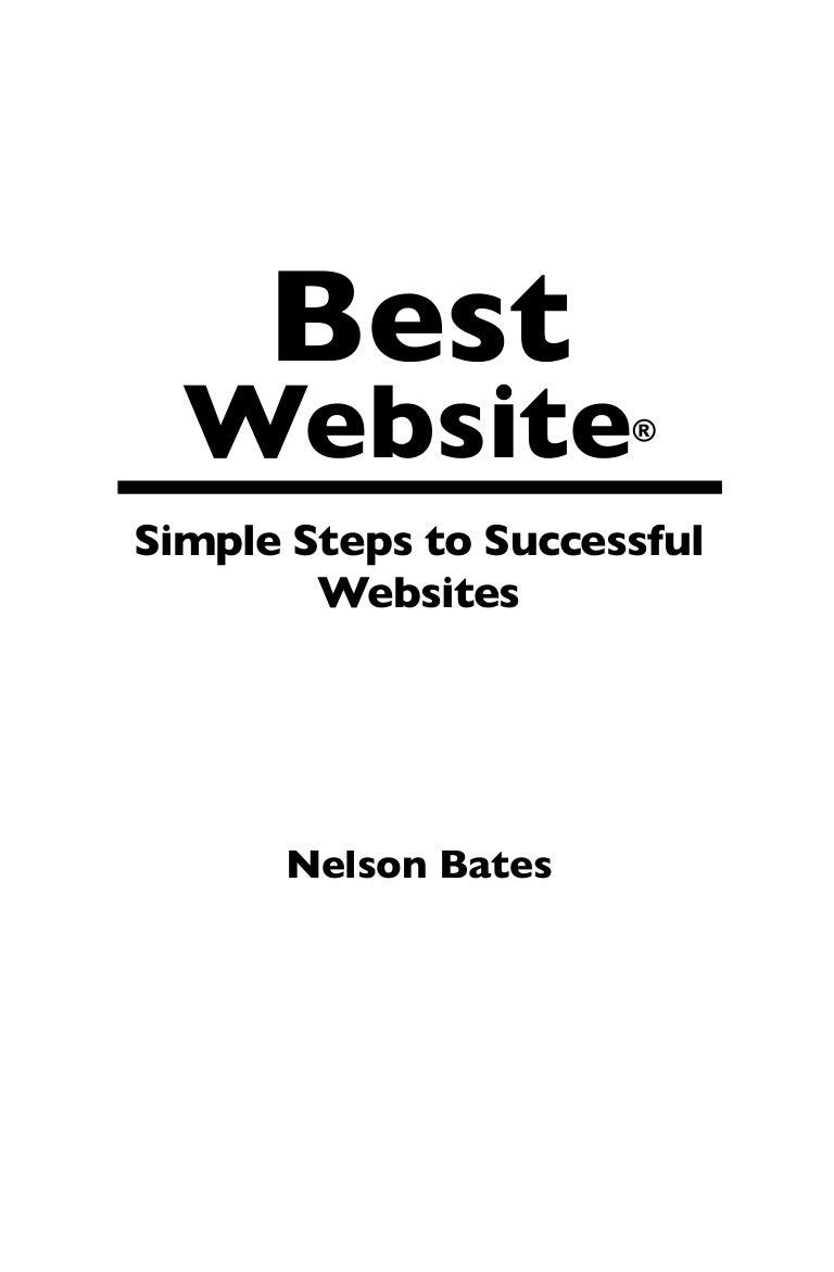 Best Website: Simple Steps to Successful Websites
