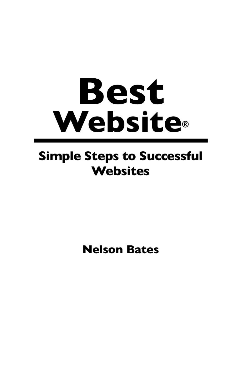 Simple Steps to Successful Websites.