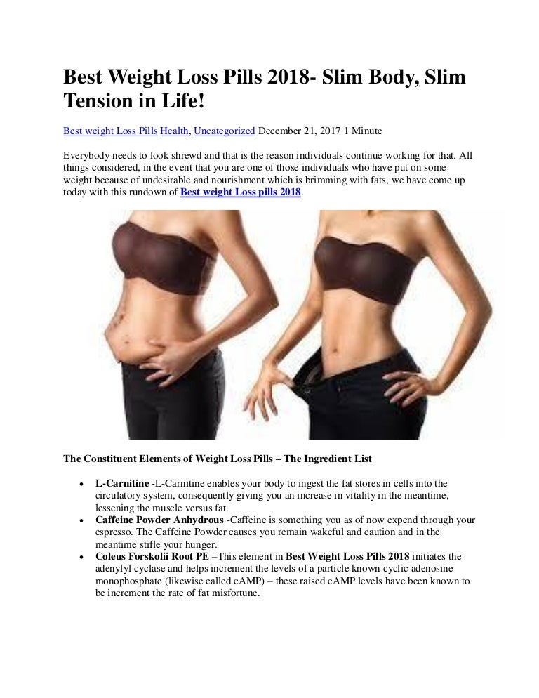 Best weight loss pills for females