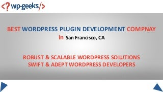 Best wordpress plugin development compnay converted