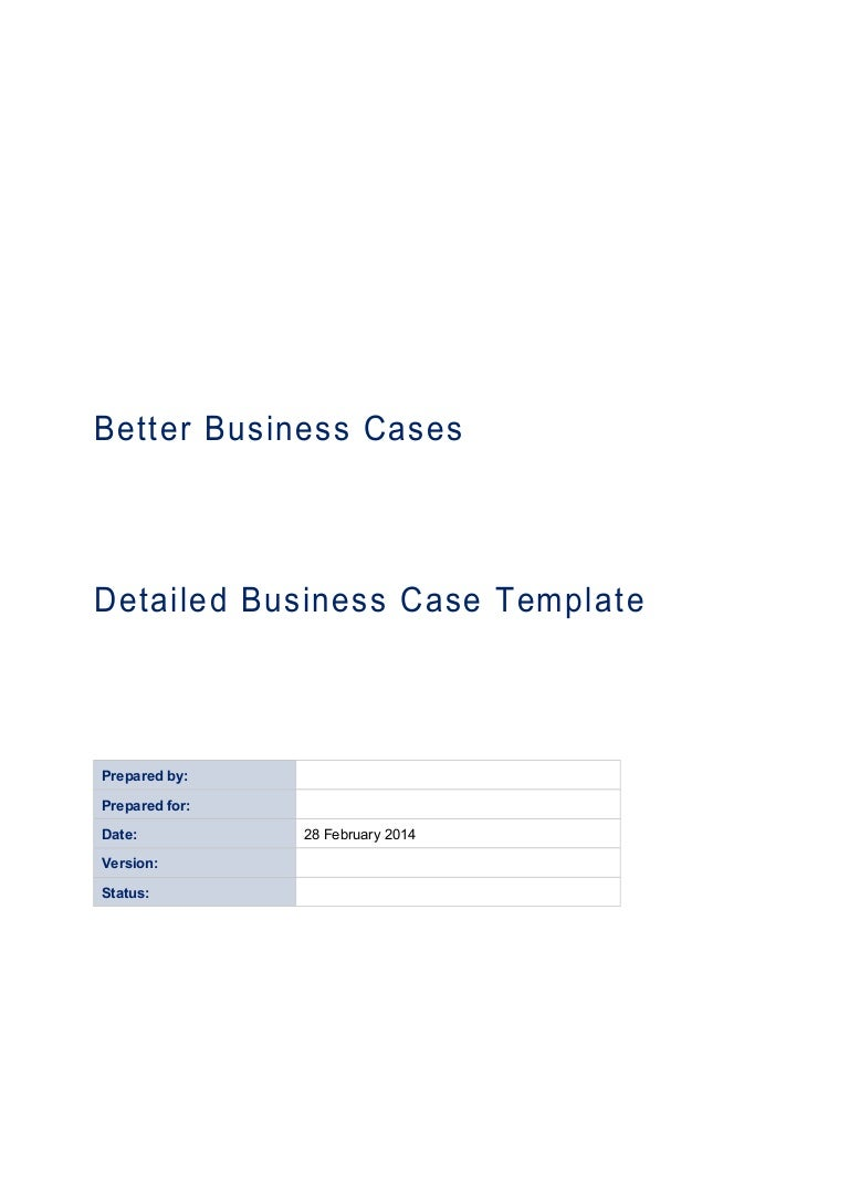 Business case word template free download friedricerecipe Image collections