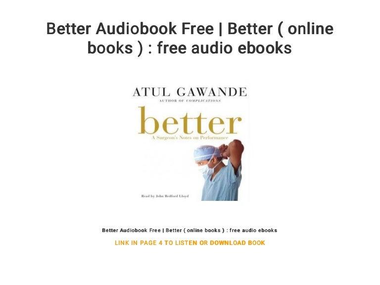 Complications Atul Gawande Ebook