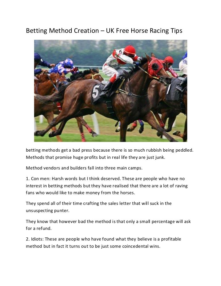 Horse betting strategy uk basketball arb betting spreadsheet