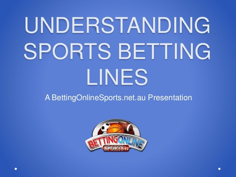 How do sports betting lines work betting william