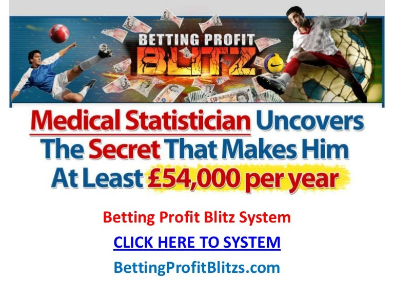Betting profit blitz review online sports betting laws california